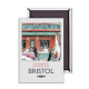 Bristol Harbour Festival Weekend steel fridge magnet (se)